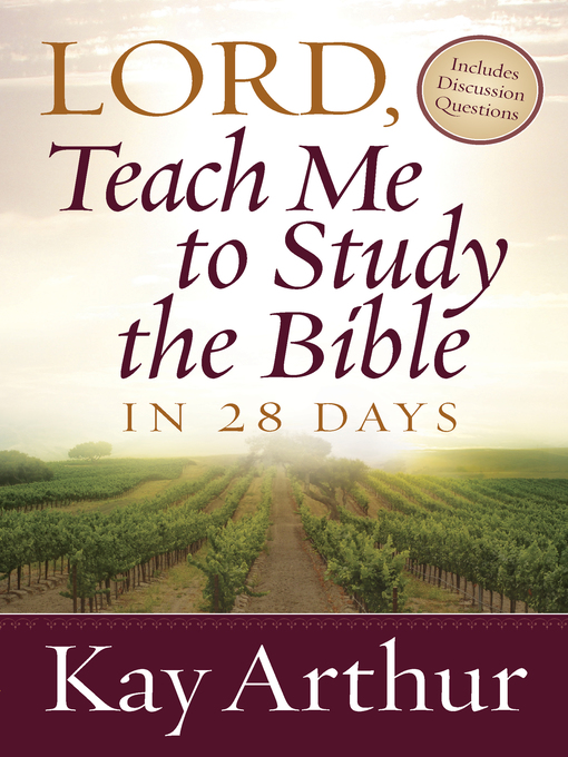 Lord, Teach Me to Study the Bible in 28 Days (eBook)